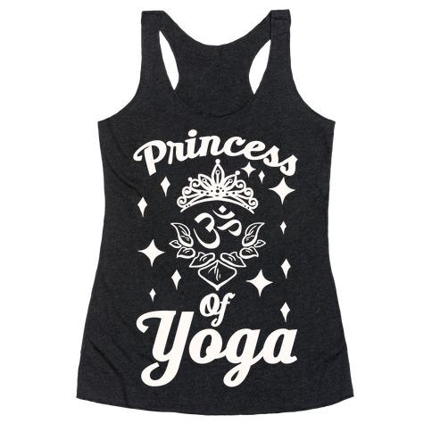 Princess Of Yoga Racerback Tank Top