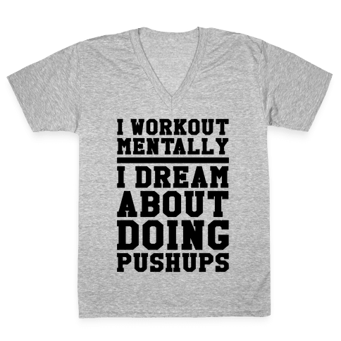 Dream Workout V-Neck Tee Shirt