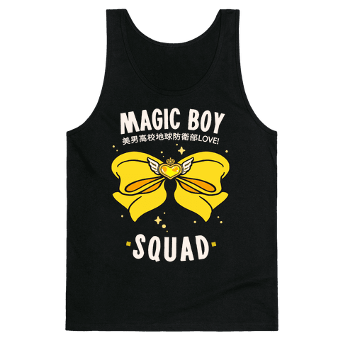 Magic Boy Squad (Yellow) Tank Top