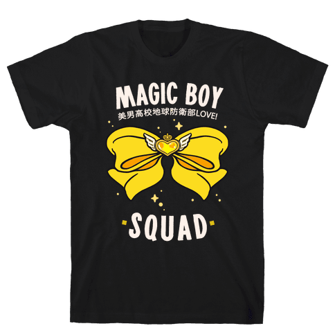 Magic Boy Squad (Yellow) Mens T-Shirt