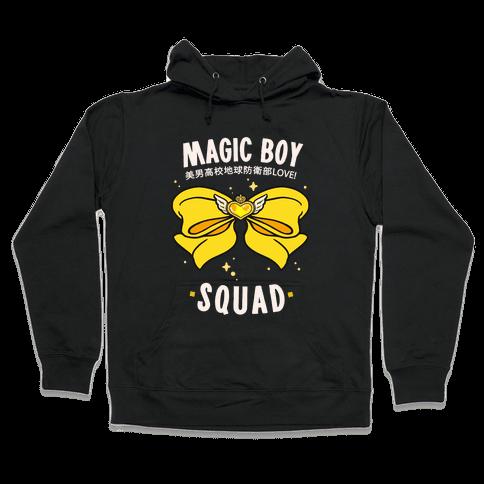 Magic Boy Squad (Yellow) Hooded Sweatshirt