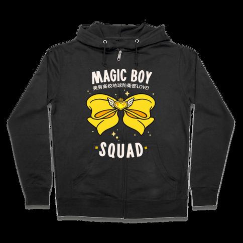 Magic Boy Squad (Yellow) Zip Hoodie