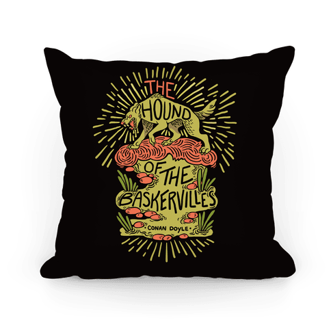 The Hound Of The Baskervilles Pillow