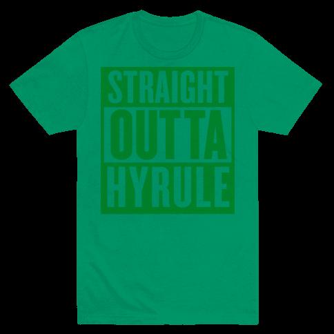 Straight Outta Hyrule Mens T-Shirt