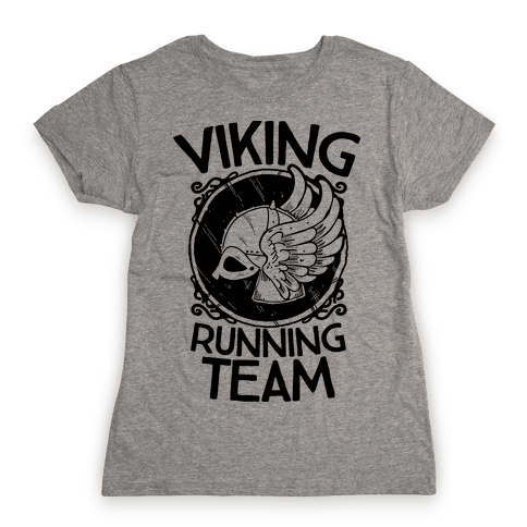 Viking Running Team Womens T-Shirt