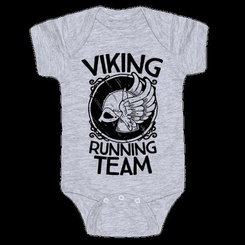 Viking Running Team Baby Onesy