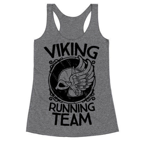 Viking Running Team Racerback Tank Top