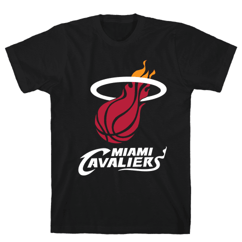 Miami Cavaliers Mens T-Shirt