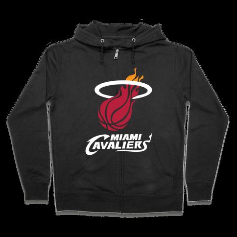 Miami Cavaliers Zip Hoodie