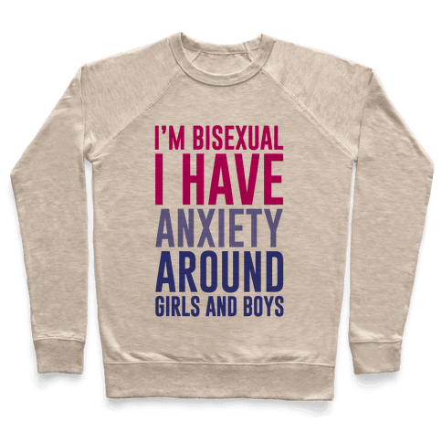 Bisexual Anxiety Pullover