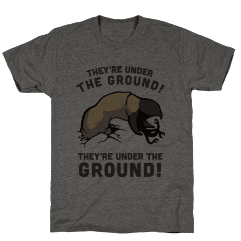 Graboids, They're Under The Ground! (Tremors)