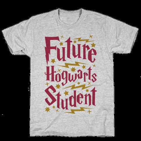 Future Hogwarts Student Mens T-Shirt