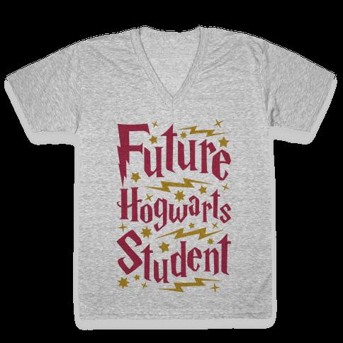 Future Hogwarts Student V-Neck Tee Shirt