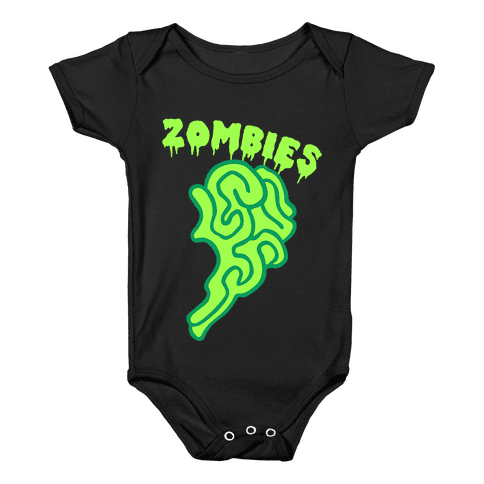 Best Zombies Green (Part 2) Baby Onesy