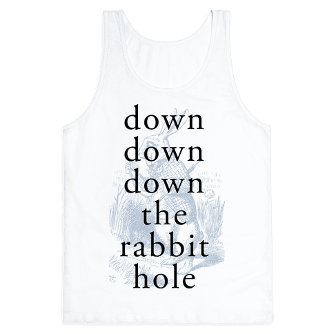 Wonderland Rabbit Tank Top