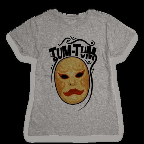 Tum-Tum Mask Womens T-Shirt