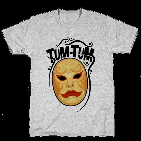 Tum-Tum Mask Mens T-Shirt