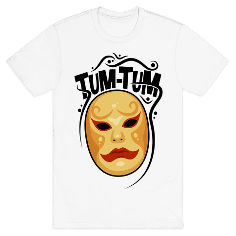 Tum-Tum Mask Mens T-Shirt