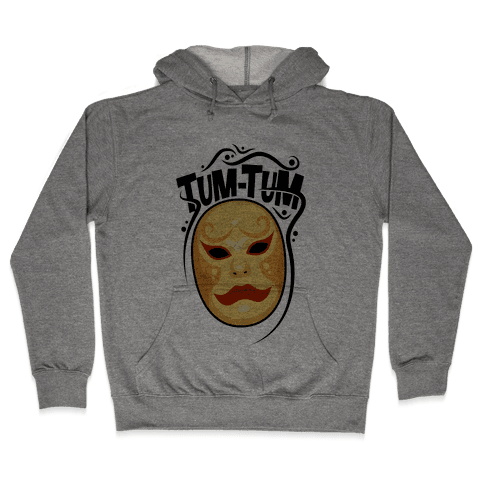 Tum-Tum Mask Hooded Sweatshirt