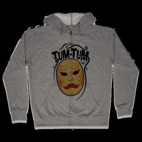 Tum-Tum Mask Zip Hoodie