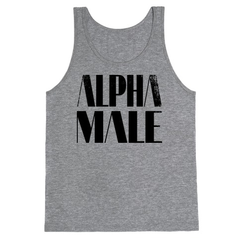 Alpha Male Tank Top