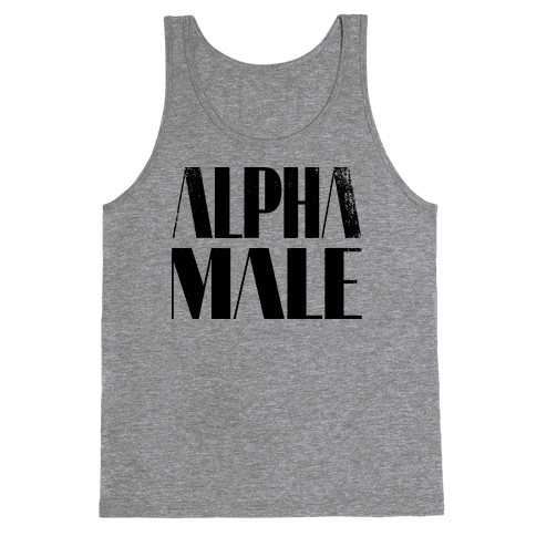 Alpha Male Tank Top
