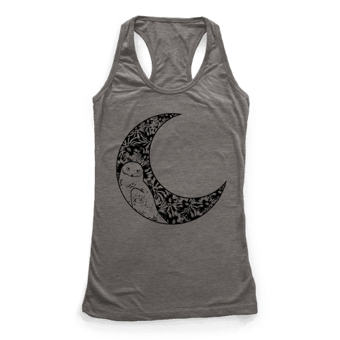 Night Owl Racerback Tank Top