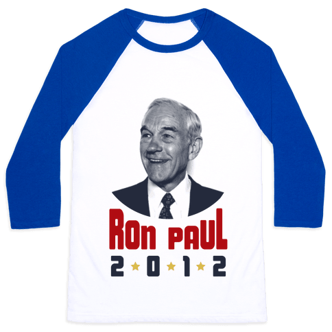 Ron Paul 2012 Baseball Tee