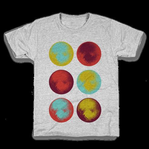 Pop Art Pluto Kids T-Shirt