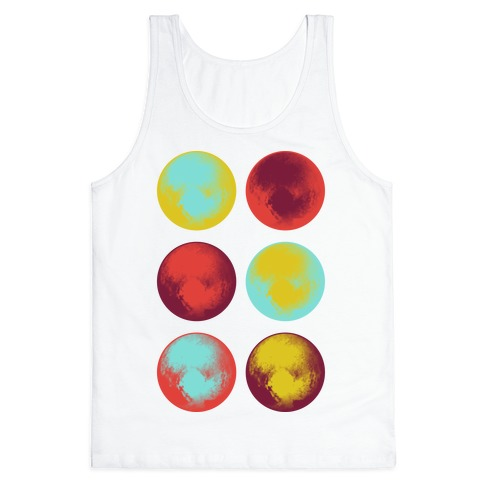 Pop Art Pluto Tank Top