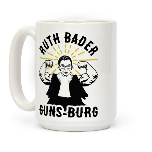 Ruth Bader Guns-Burg Coffee Mug