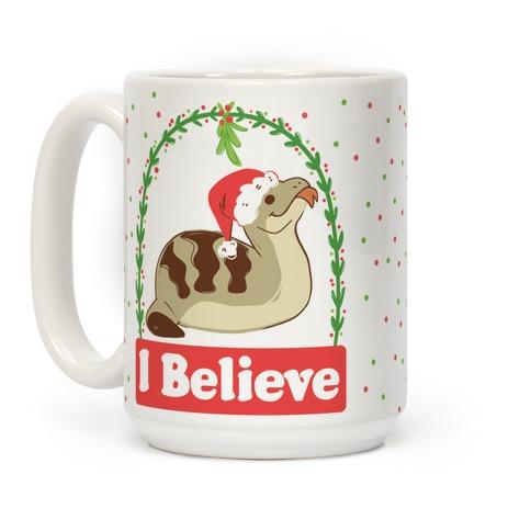 I Believe in the Christmas Tsuchinoko Coffee Mug