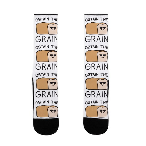 Obtain The Grain Sock