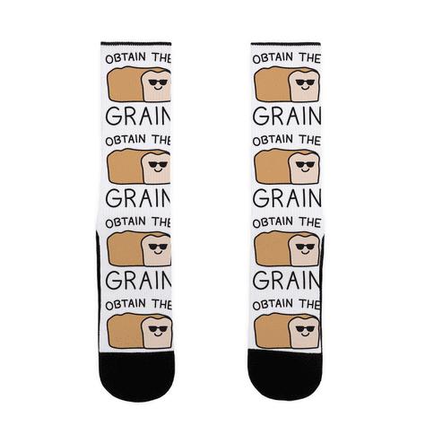 Obtain The Grain Sock