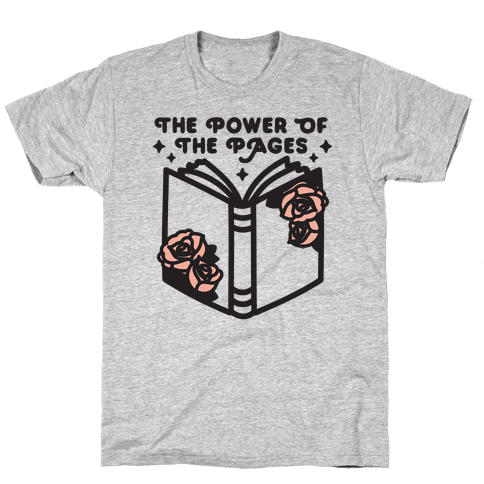The Power Of The Pages Mens/Unisex T-Shirt