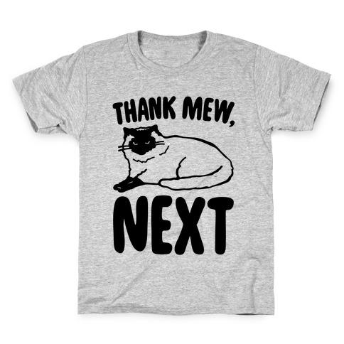 Thank Mew Next Cat Parody Kids T-Shirt