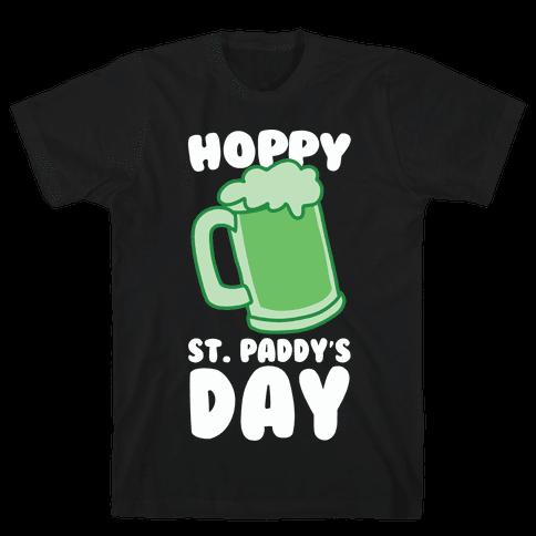 Hoppy St. Paddy's Day Mens/Unisex T-Shirt