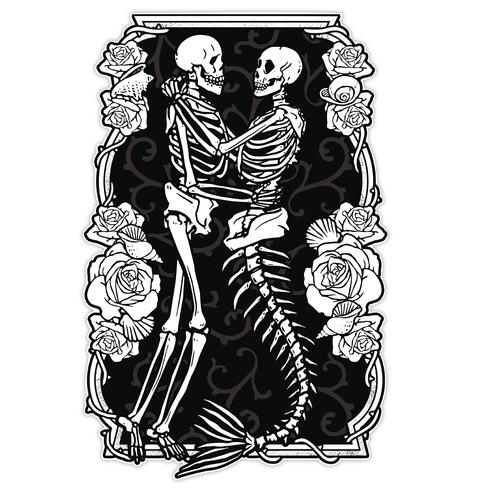 Deep Sea Love Affair Die Cut Sticker