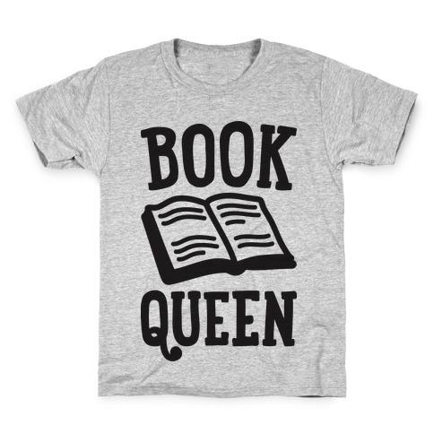 Book Queen Kids T-Shirt