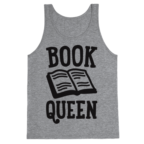 Book Queen Tank Top