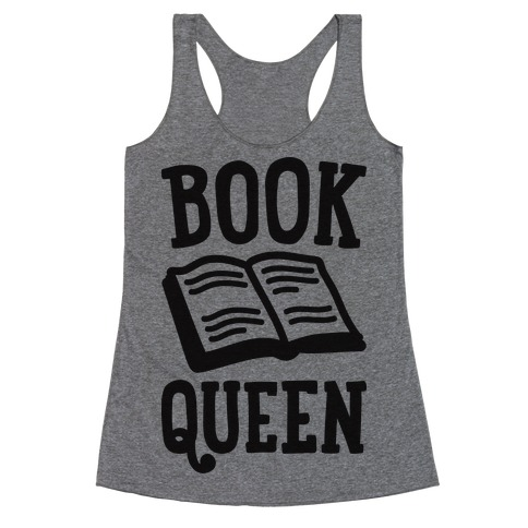 Book Queen Racerback Tank Top