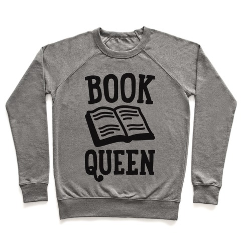 Book Queen Pullover