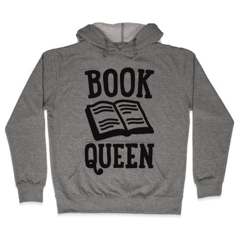 Book Queen Hooded Sweatshirt