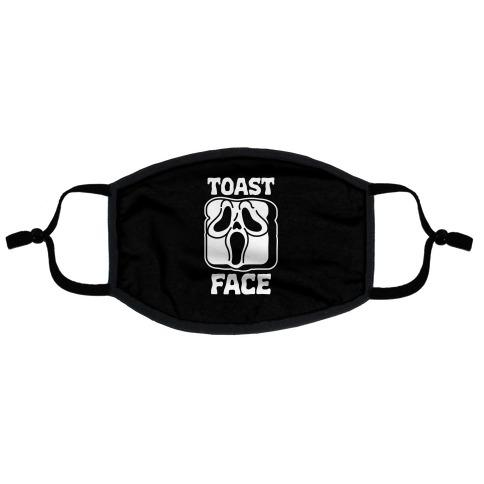 Toast Face Flat Face Mask