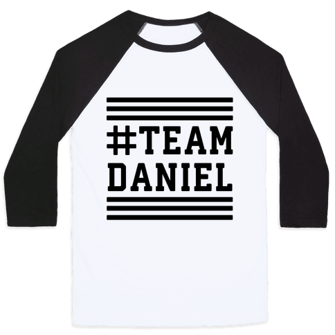 Team Daniel Baseball Tee