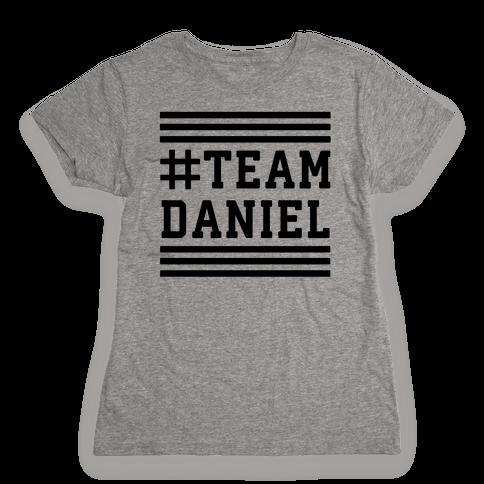 Team Daniel Womens T-Shirt