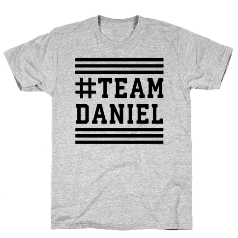 Team Daniel Mens T-Shirt