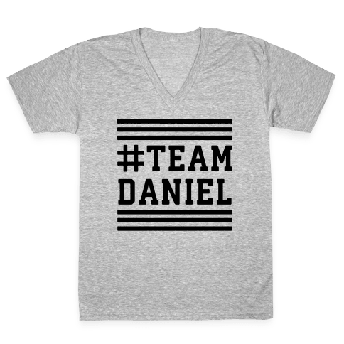 Team Daniel V-Neck Tee Shirt