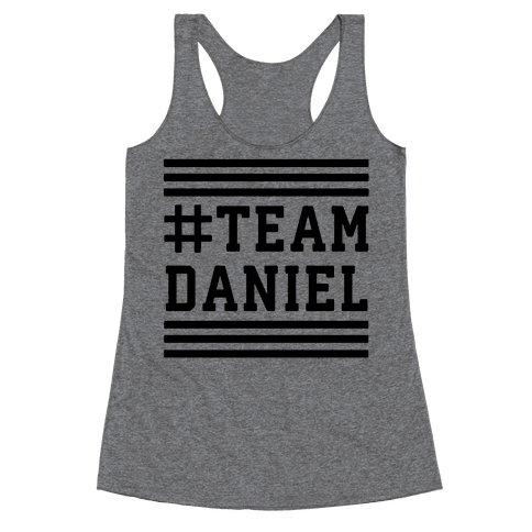 Team Daniel Racerback Tank Top