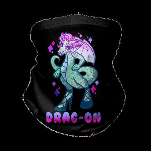 Drag-On Drag Queen Neck Gaiter